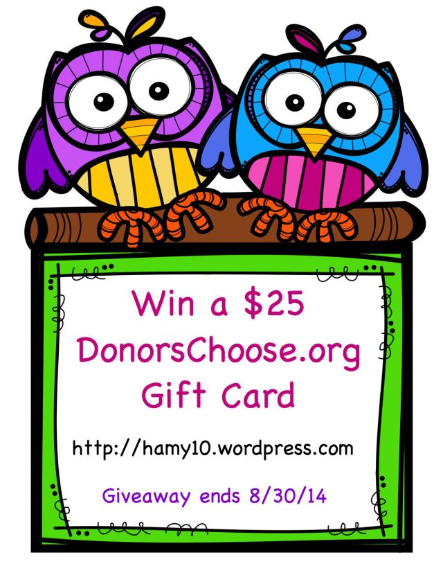 Owl Frame Donors Choose